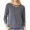 Wilt big slouchy doubled sweatshirt - dark shadow