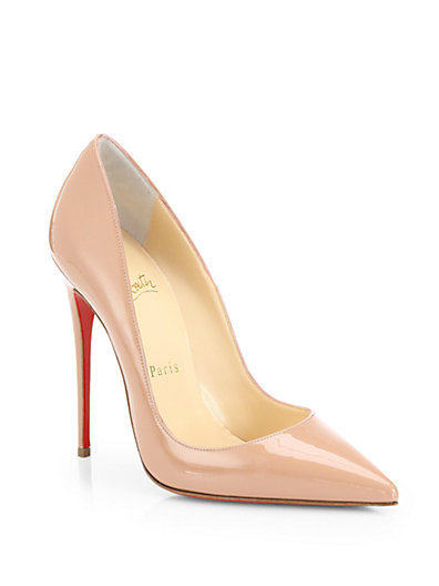 Christian Louboutin - So Kate 120 Patent Leather Pumps - Saks.com
