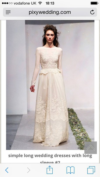 dress vintage dress wedding dress