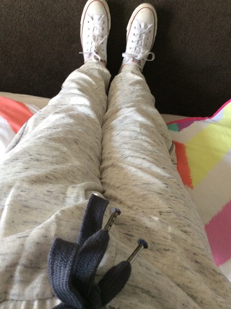 pants factorie $15 grey comfy sweats funny casual