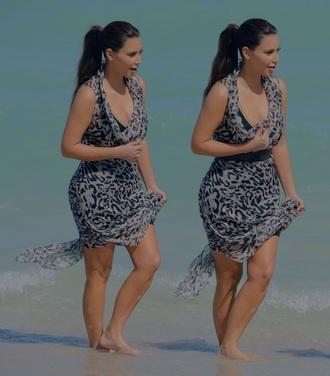 dress leopard print summer dress silk dress sheer lace dress floral