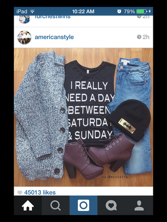 jeans clothes cardigan sweater boots jeas graphic tee