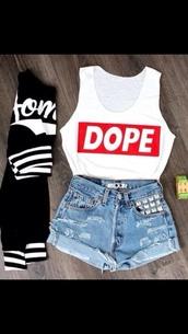 shorts,t-shirt,tank top,jacket,shoes,dope,cardigan,sweater,white stripes on wrists,varsity sweater,cropped sweater,black