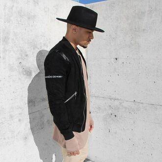 jacket maniére de voir fashion trendy suede bomber jacket style coat menswear outerwear kanye west 36683