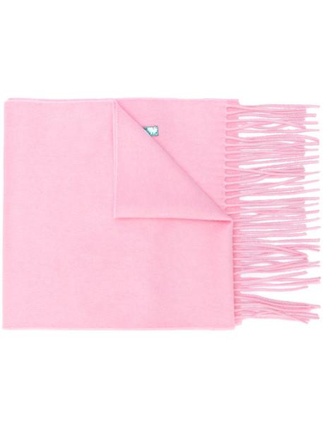 women scarf silk purple pink