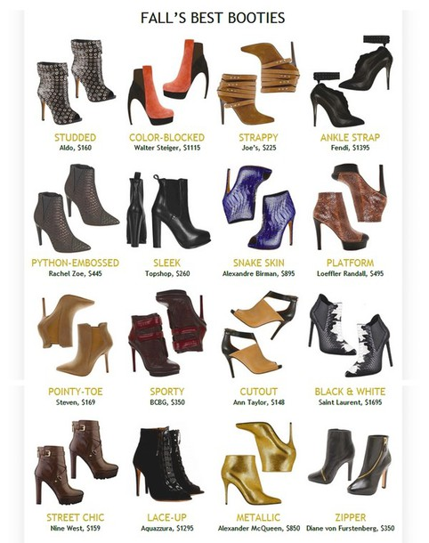 designer shoes and boots