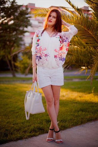 the bow-tie blouse shirt shoes bag jewels