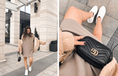 adventures in fashion,blogger,coat,bag,shoes,jewels,gucci bag,sweater dress