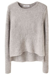 grey sweater,wool,asymmetrical,sweater,pullover,creme,beige,knit
