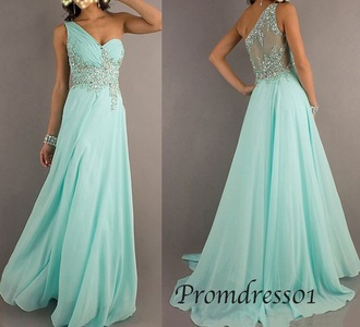 dress prom turquoise night out