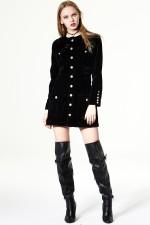 Glam Nightlight Velvet Dress Discover the latest fashion trends online at storets.com