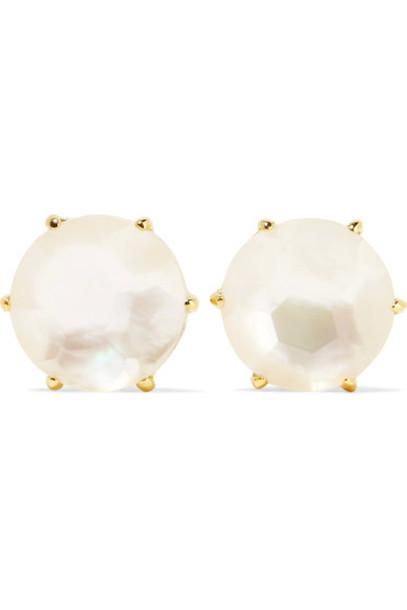 Ippolita pearl earrings rock pearl candy earrings gold jewels
