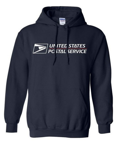 Sweater usps united states postal service usps hoodie for Usps t shirt shipping