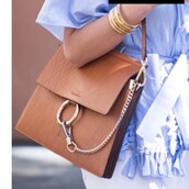 bag,chloe,chloe bag,brown bag,shoulder bag