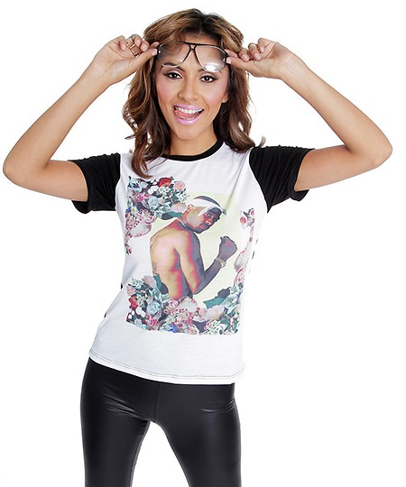 Tupac Gangster Chic Tee by DIMEPIECE