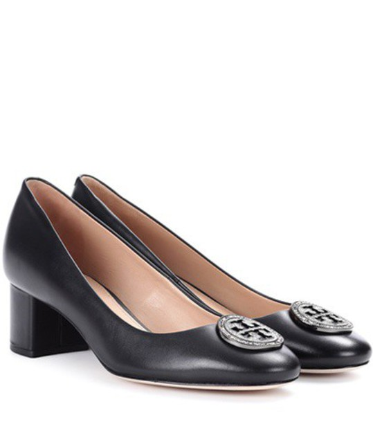 Tory Burch pumps leather black shoes
