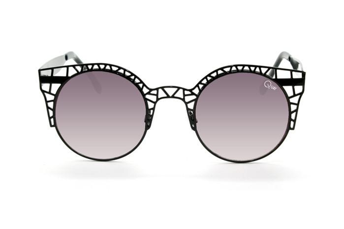 Quay - Fleur Black Sunglasses