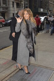 coat,pumps,jennifer lopez,shoes