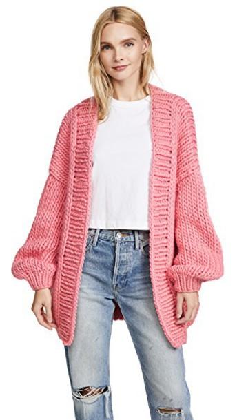 I love Mr Mittens cardigan cardigan strawberry sweater