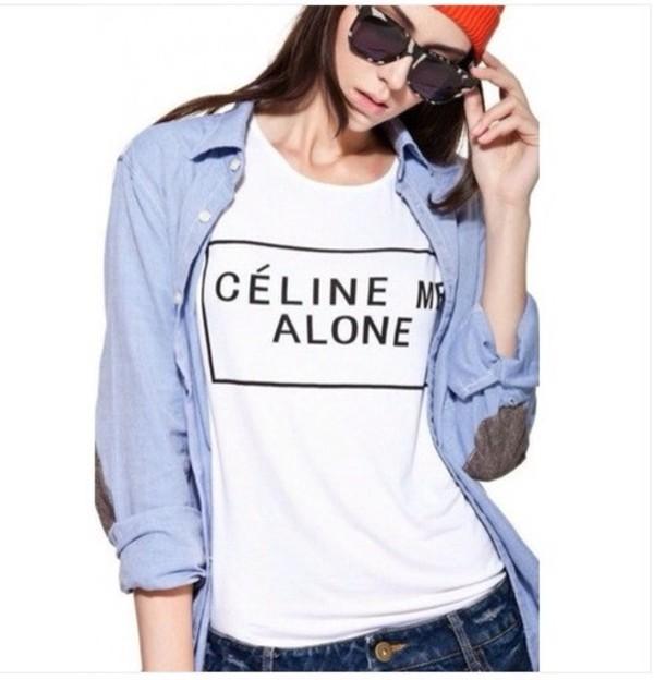 shirt celine