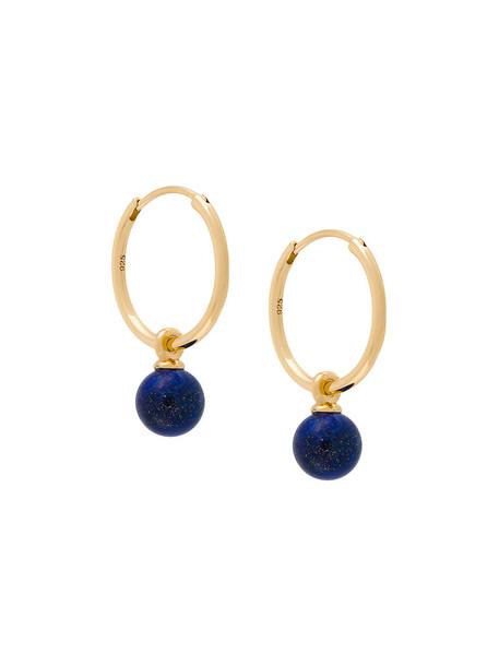 Astley Clarke women earrings hoop earrings gold grey metallic jewels