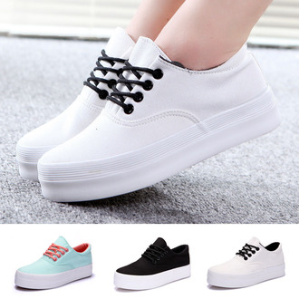 shoes vans sneakers high platform white