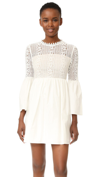 dress mini dress mini lace white