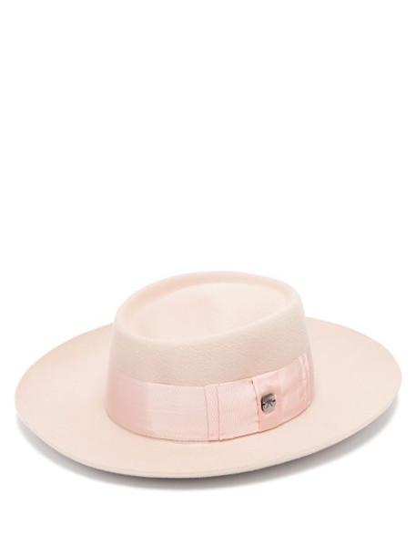 Filù Hats - Niseko Wool Blend Hat - Womens - Pink