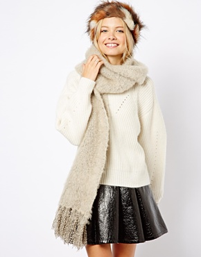 ASOS | ASOS Ultra Fluffy Tassel Scarf at ASOS