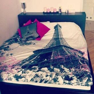 belt lit house draps paris tour eiffel swag bedding clothes beautiful french