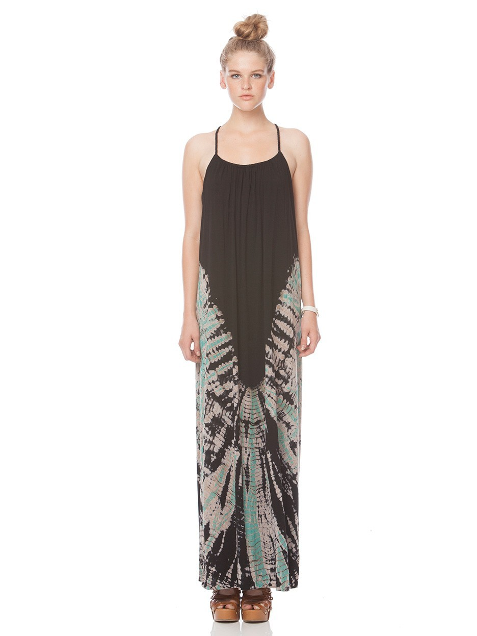 Gypsy05.Com - Official Website :: Shop Women Maxi Dresses - Bamboo Spaghetti Maxi Dress