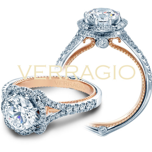 2t 0.40ctw diamond engagement ring mounting