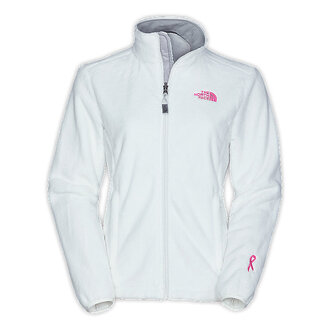 jacket pink north face pink ribbon