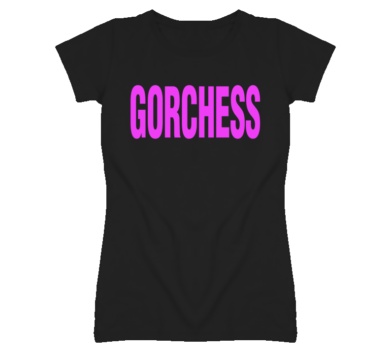 Gorchess Funny Celebrity T Shirt