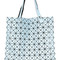 Bao bao issey miyake - prism tote - women - plastic/polyester - one size, blue, plastic/polyester