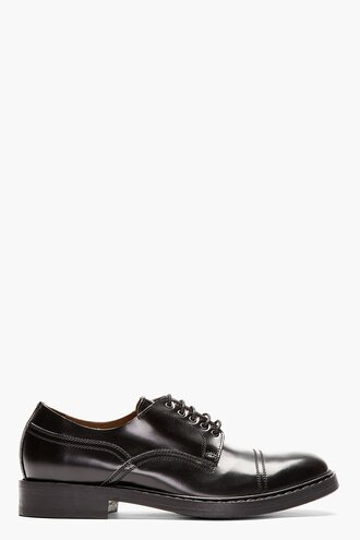 shoes derbies black menswear casual shoes classic