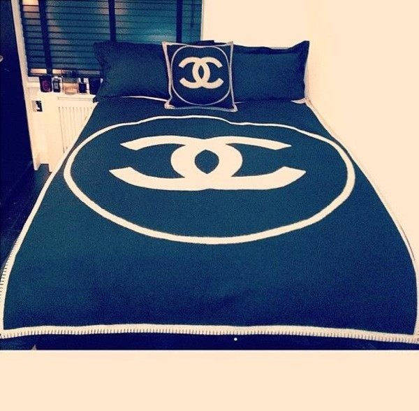 pajamas bedding bedding bag chanel black dope home accessory