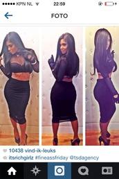 dress,black,2pieces,fashion