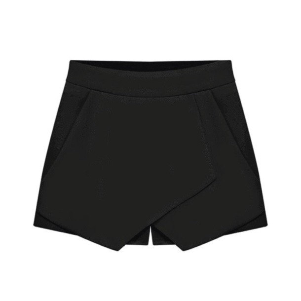 sylvi label skorts black skorts