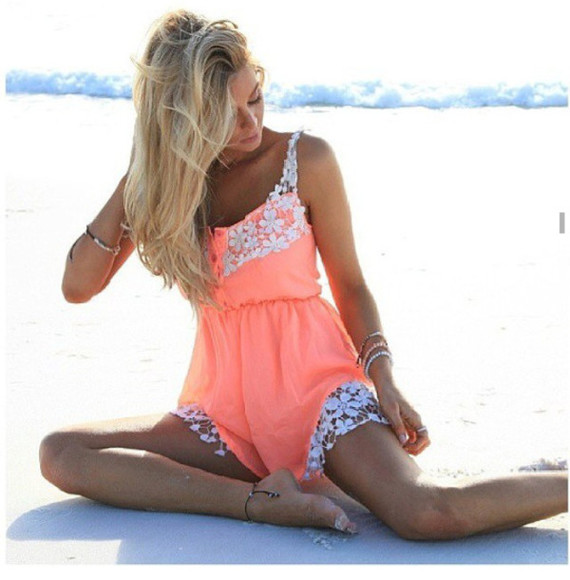 jumpsuit coral romper lace jumpsuits coral jumpsuit