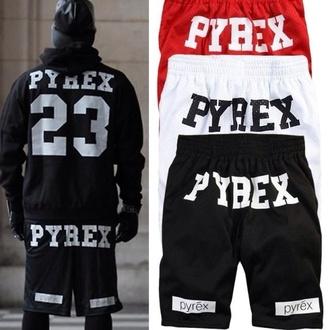 shorts pyrex pyrexie 23 white