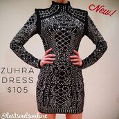 dress,lost souls,mini dress,long sleeve mini dress,studded dress,studded dresses,dress intricate design,high neck,stunning dress,sexy dress,sexy party dresses,party dress,figure flattering,special occasion dress,birthday dress,new years eve dress,new years outfit