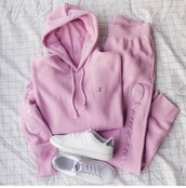pants,champion,rose,pink,sweater,hoodie