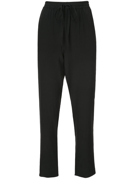 pants high waisted pants high waisted high women black silk