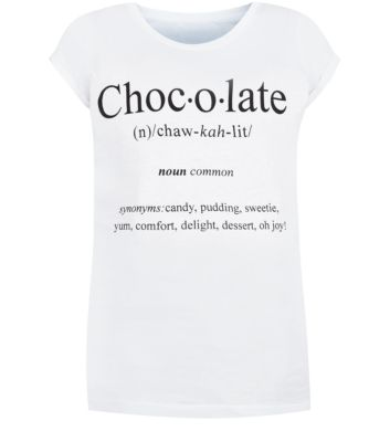 White Chocolate Definition T-Shirt