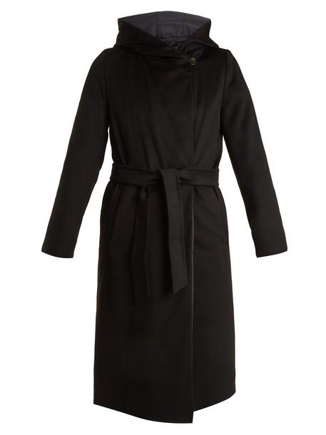 WEEKEND MAX MARA coat black