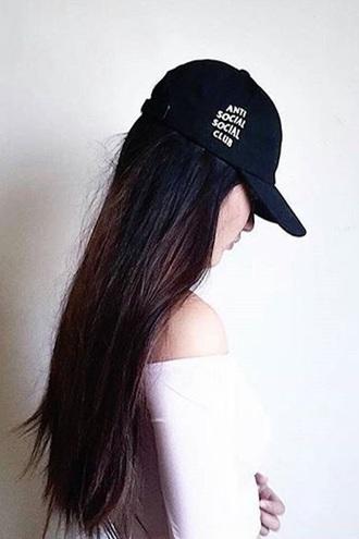 hat cap black quote on it fashion stylish style free vibrationz