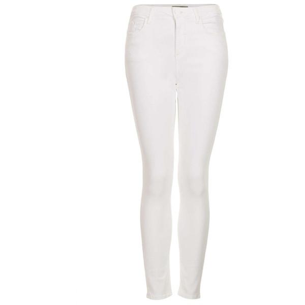 TOPSHOP MOTO White Jamie Jeans - Polyvore