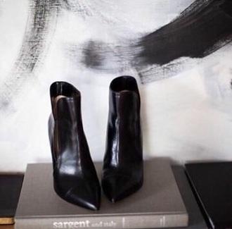 shoes black black heels classy leather