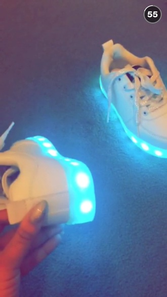 shoes pagie cakey light up nike air force
